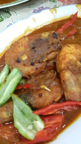 Prawn Curry, Malaysian curries, Indian curry, cooking in Penang, Penang homecooking school