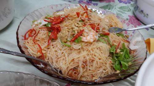 Kerabu Beehoon, Nyonya Food, Penang Food, Malaysian Food, Pearly Kee