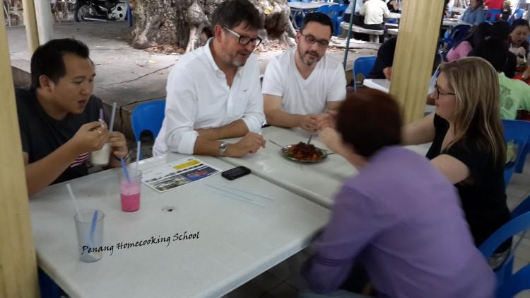 Ainsley Harriot, Pearly Kee, Penang Food, Street Food Penang.