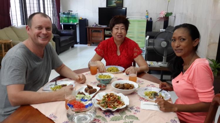Will Merrick, Penang, Pearly Kee