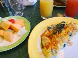 Egg Omelet Breakfast in Ms Maasdam