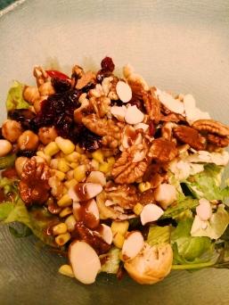 Salad lunch in Ms Maasadm