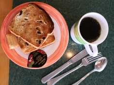 Breakfast in Ms Maasdam