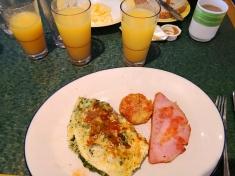 Breakfast meals in Ms Maasdam