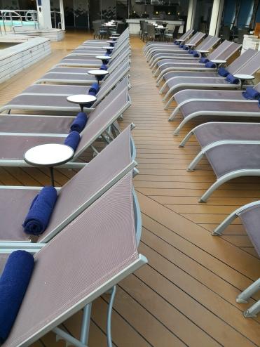 Sunbathing area in Ms Maasdam